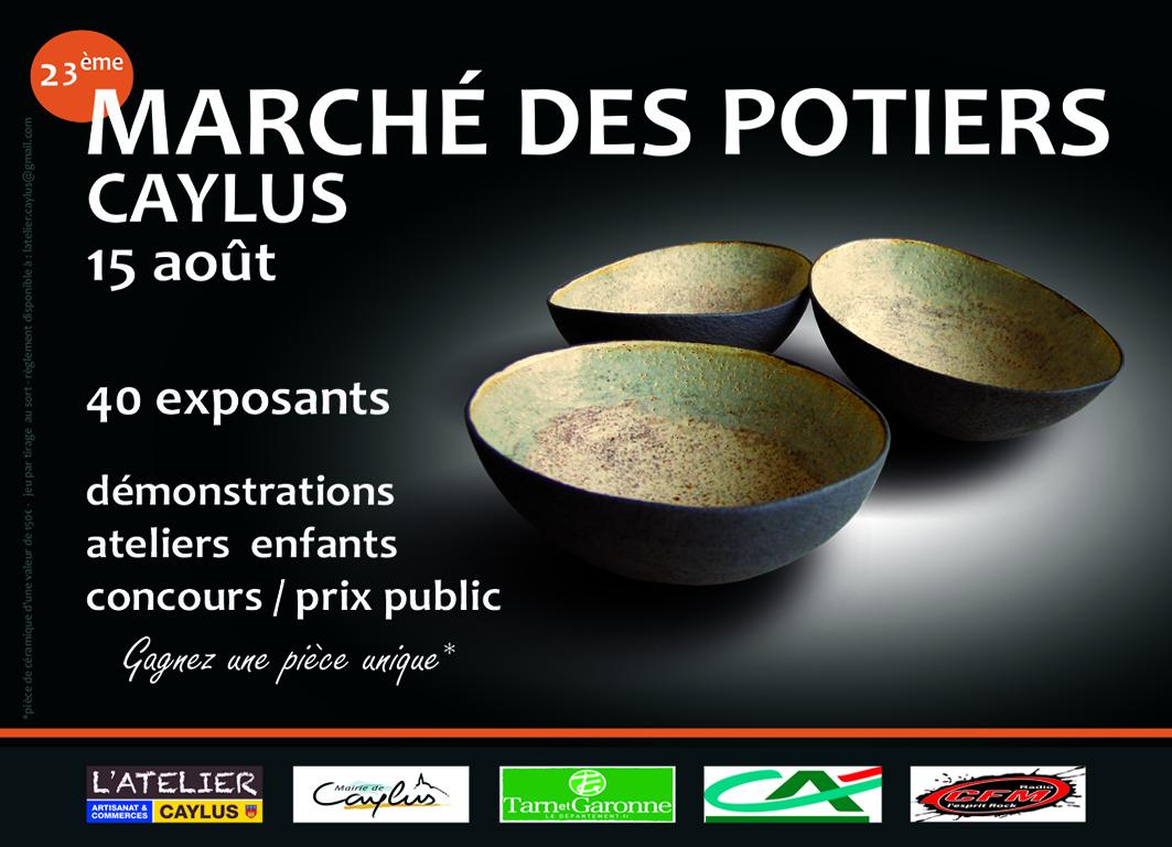 Marché des Potiers de Caylus